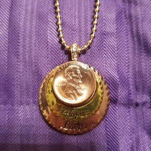 Treasure snap necklace